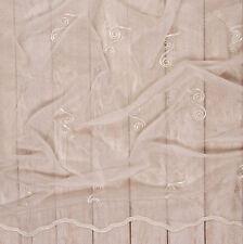 Ausverkauf Gardinenstoff Marquisette creme Höhe 290 Cm Meterware