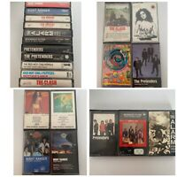 Rock Metal Cassette Tape Lot Red Hot Chili Peppers The Clash Pretenders Nugent