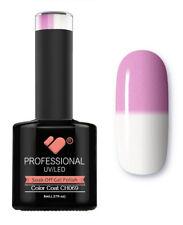CH069 VB Line Colour Changing Pink White - gel nail polish - super gel polish