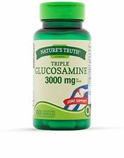6 Pack Nature's Truth Triple Glucosamine 3000mg Capsules 60 Each