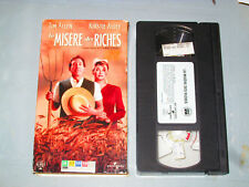 La Misere Des Riches/ For Richer Or Poorer (VHS)(French) Tim Allen Testé