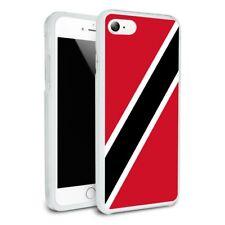 Trinidad and Tobago Country Flag Slim Hybrid Case Fit iPhone 8, 8 Plus, X