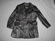 Vintage IMPERIAL Women's Leather Jacket Size 14