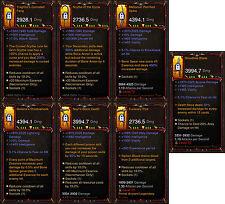 Diablo 3 RoS PS4 - [HARDCORE] - Huge Primal Necromancer Weapon Bundle!