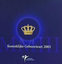 Koninklijke Geboorteset 2003 Amalia met herdenkingsmunt
