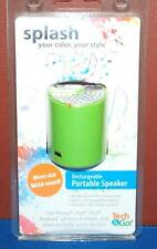 New Tech & Go Rechargeable Portable Speaker In Green 190 0734 107