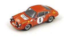S4023 Spark 1/43: Porsche 911S, #6, Winner Monte Carlo Rally 1970 B. Waldegaard