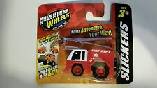 Maisto Adventure Wheels, Slickers, Fire Truck, Motorized Pull Back & Go! Ages 3+