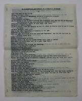 1938 Alphabetical Arrangement of Prison Convicts Slang Language Pages