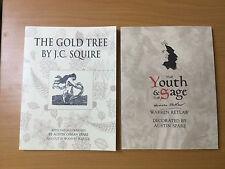 Austin Spare : 4 Books — Art & Letter, Youth & Sage, Poems & Masks, Gold Tree