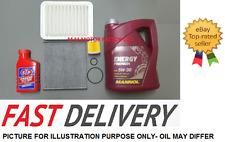 TOYOTA AVENSIS 1.6 1.8 2.0 PETROL AIR OIL POLLEN ENGINE FLUSH OIL SERVICE KIT