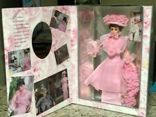 "My Fa[R Lady Eliza Doolittle Barbie Hollywood Legend ""Debut' In Pink ""1995 Coa"