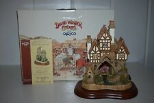 David Winter Cottages Bridgewater D1056 20th Anniversary 1999 Box Coa Special