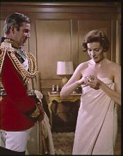 Julie Andrews En Bain Serviette Michael Craig Étoile ! Original 5x4 Transparence