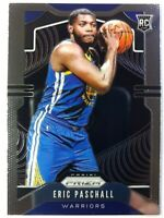 2019-20 Panini Prizm Eric Paschall Rookie RC #279, Golden State Warriors