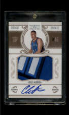 Cole Aldrich RC Jersey Patch Auto /99 2010-11 Panini National Treasures RPA