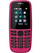 Nokia 105 Rose Téléphone Portable Débloqué sans SIM