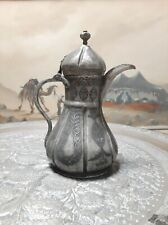 Handmade Antique Ottoman Copper Dallah Coffee Pot Stamped& Dated1311 دلة عثماني