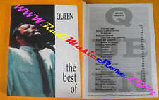 spartito QUEEN The best of 1996 CARISCH FREDDIE MERCURY no cd lp mc dvd vhs