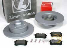 Vw Golf 4IV Cabrio - Zimmermann Bremsscheiben Abs Ringe Bremsbeläge hinten*