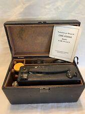 Vintage Cine Kodak Model B 16mm Camera  -  Photography Ephemera Memorabilia