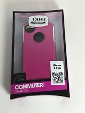 OtterBox Commuter Series for iPhone 4 and iPhone 4S Pink 100% Authentic New