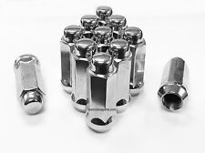 "32 CHROME TRUCK LUG NUTS 14X1.5 | FITS MOST CHEVY GMC CADILLAC TRUCKS 2.32"" TALL"