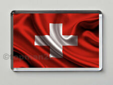 New, Quality Fridge Magnet, National Flag of Switzerland, World Cup, Swiss