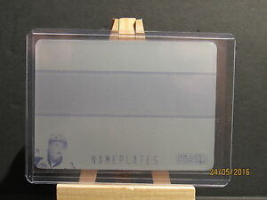 2014-15 ITG Heroes and Prospects Nameplates Printing Plates Cyan Connor McDavid