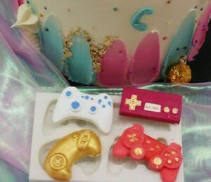 Silicone Game Controller Fondant Cake Sugarcraft Mould Chocolate Baking Mold DIY