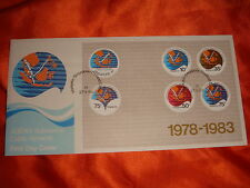 Singapore, 1983 Malaysia Thailand Submarine Cable M/S on FDC