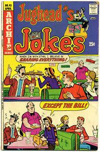 Jughead's Jokes (Archie) No. 43; April 1975