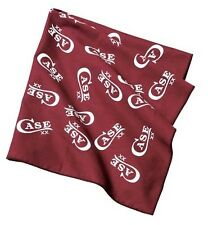 CASE XX BANDANA BURGANDY AND WHITE MADE IN THE USA