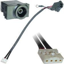 SAMSUNG NP-R518 NP-R519 Dc Jack Zócalo Puerto de alimentación con conector de cable
