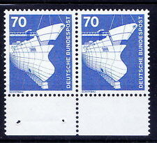 Germany MNH Pair, Ships, Harbour, Transport