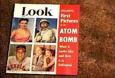 LOOK MAGAZINE 1951 MAY 8  FINE+ FILE COPY ATOM BOMB LENA HORNE