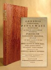 1802 graeca Greek Konon Ptolemaios Chennos Parthenios Ptolemaeus Conon