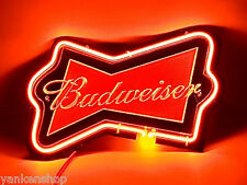 "Sd082 Budweiser Beer Bar Pub shop Display Neon night Light Acrylic Sign 11.5""x8"""