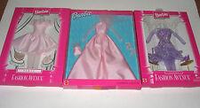Fashion Avenue Nrfb Set Of 3 Barbie Fashion Avenue Party Dresses Paparazzi