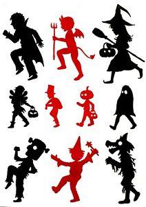 Tattoos Witch Devil Ghost Zombie Pumpkin Halloween Kids Adults