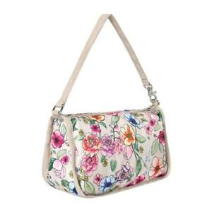 LeSportsac Classic Collection Classic Pouchette Bag in Sunshine Garden NWT