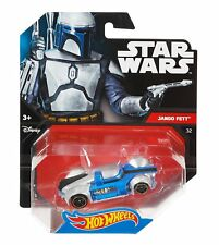 Hot Wheels Star Wars Jango Fett Character Car #32 1:64