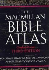 The Macmillan Bible Atlas, Safrai, Ze'ev, Rainey, Anson F., Avi-Yonah, Michael,
