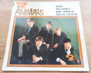 THE ANIMALS Inside - Looking out EP 45t ORIGINAL FRANCE 1966 BARCLAY 070970