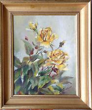 Künstlerische Realismus-Malerei mit Blumen-, Frucht- & Pflanzen-Motiv