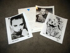 BOY GEORGE High Hat / Tense Nervous Headache Press Kit With 8x10 Promo Photo