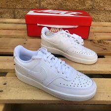 NIKE WMNS COURT VISION LOW WHITE LOW TOP CASUAL LIFESTYLE SNEAKER CD5434-100