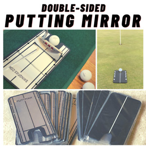 Putting Mirror - Double Sided Putting Mirror. Best on the Market!!