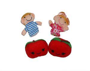 Apple Tree finger puppets, Story telling Nursery Rhymes Fairy tales