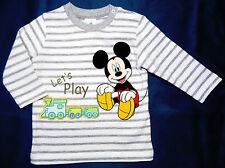 Neu! Disney Mickey Mouse Sweatshirt Langarmshirt Longsleeve Pulli  62 68 74